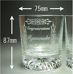 グラスサイズ直径約75×高さ87