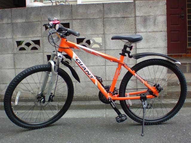 今の通勤車輌「GIANT ROCK1」です ... : 自転車盗まれた警察 : 自転車の