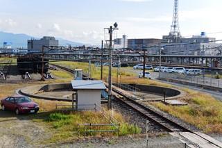 函館運転所の転車台