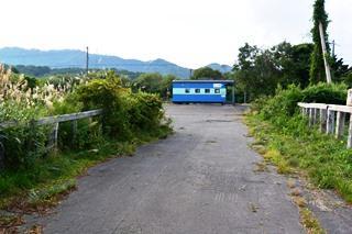 中ノ沢駅遠景