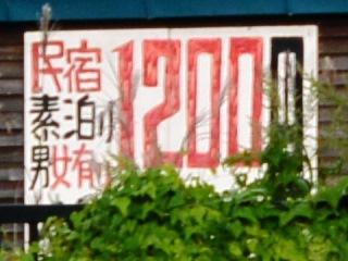 中ノ沢屋の看板