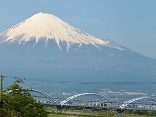 富士川橋から富士山