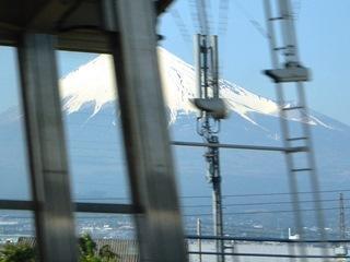 新富士駅から富士山