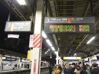 赤羽駅の案内表示板