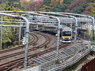 御茶ノ水橋から水道橋方向を望む