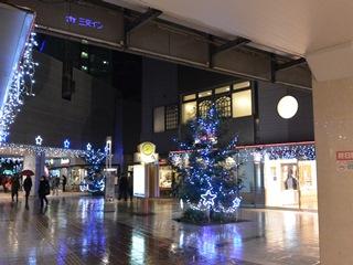 近鉄四日市駅前クリスマス&年末イルミネーション