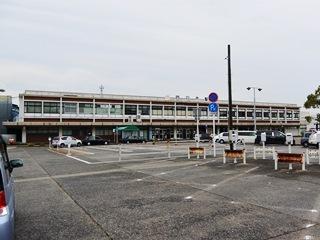 JR四日市駅西口ロータリー