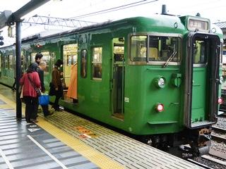 JR草津線・緑一色113系車両(その2)