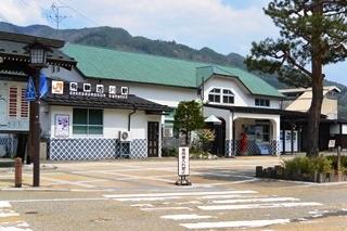 JR高山本線飛騨古川駅1