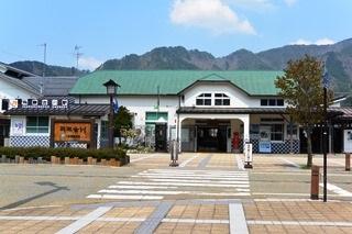 JR高山本線飛騨古川駅2