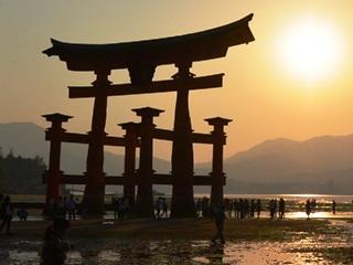 厳島神社鳥居4