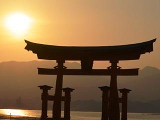 厳島神社鳥居5