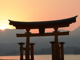厳島神社鳥居6