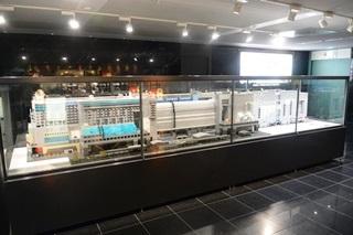 京都駅ビルのレゴブロック・ミニチュア1