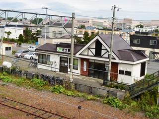 JR近文駅駅舎2