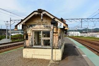 JR近文駅ホーム待合室2