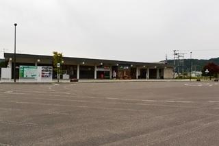 JR上川駅ロータリー