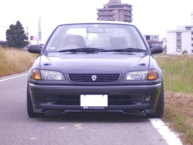 Toyota Corolla SEG front lips AE111 101 and SE AE92