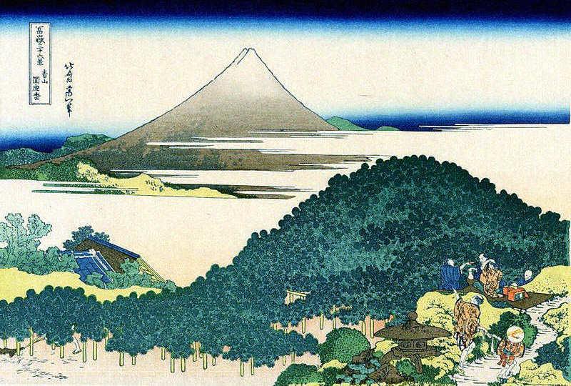 富嶽三十六景 青山円座松   夢を支えるオリジナルアイデア作品