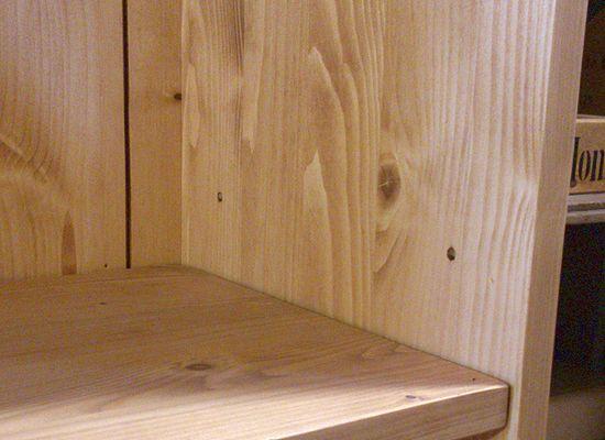 カントリー家具パイン 学習机 デスク チェア ブックシェルフ 3点セット タイプ4