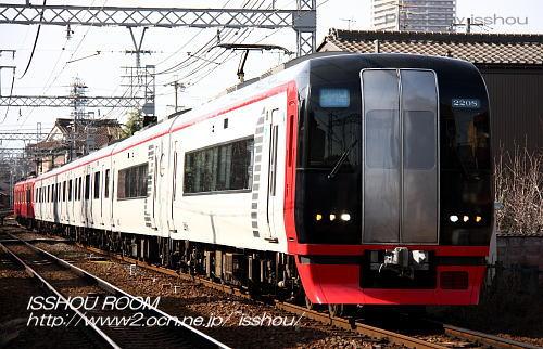 名鉄2200系+3100系