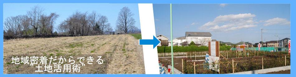 土地活用・売却・区画整理・造成