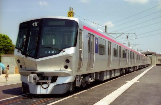 常磐新線に導入される車両は、先頭部が「速い鉄道」を ...