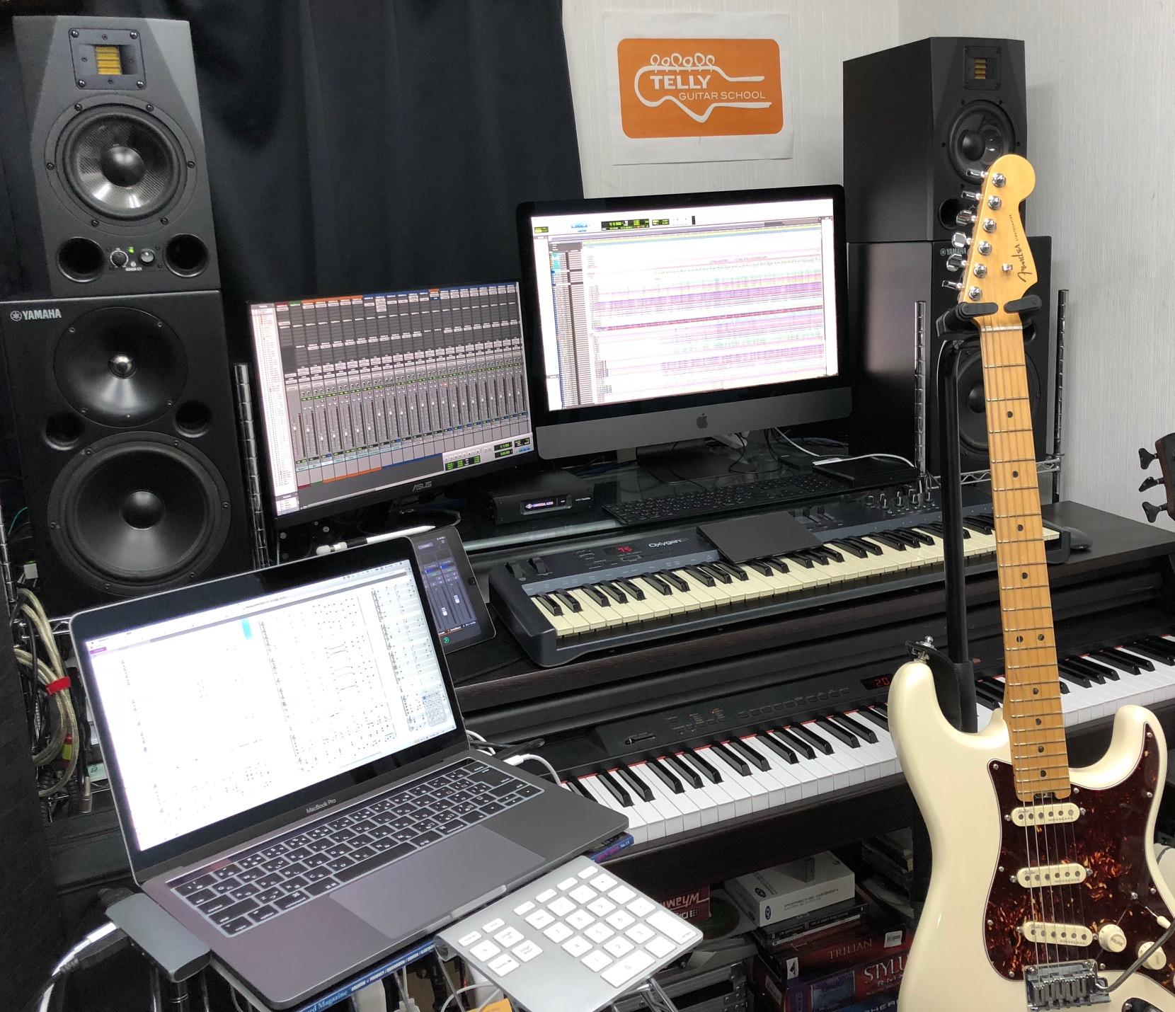 TELLYギター教室のデスクトップ