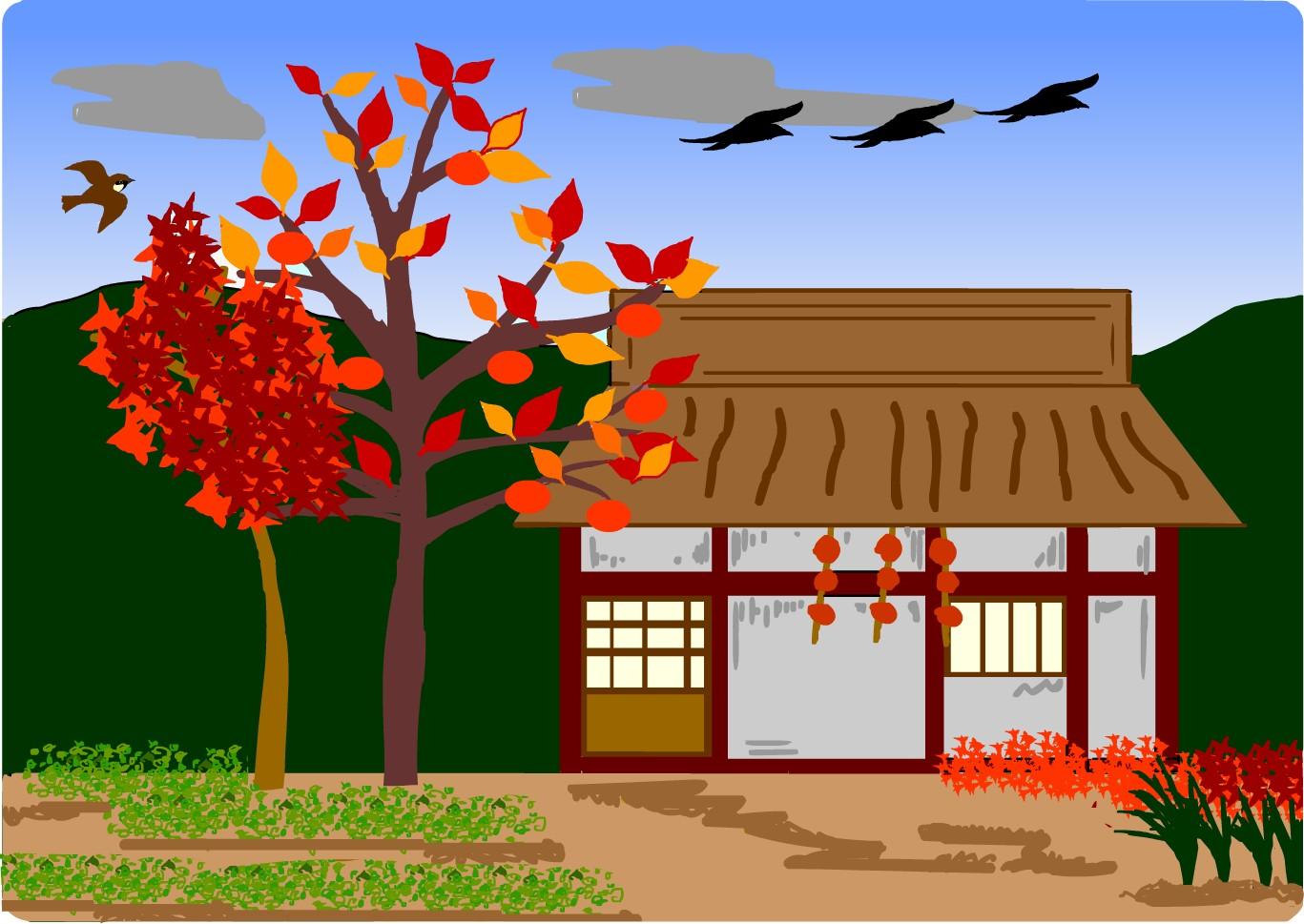 見渡せ ば 花 も 紅葉 もなか り けり 浦 の 苫屋 の 秋 の 夕暮れ